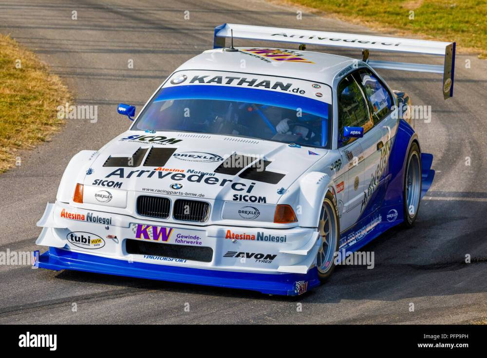 medium resolution of 1991 bmw e36 v8 judd pikes peak entrant with driver joerg weidinger at the 2018 goodwood