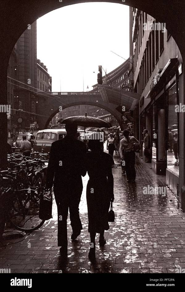 1950s Woman Walking Stock Photos 1950s Woman Walking