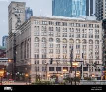 Auditorium Building Chicago Stock &