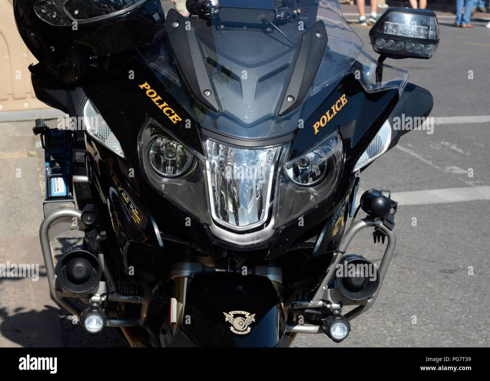 medium resolution of a bmw police motorcycle