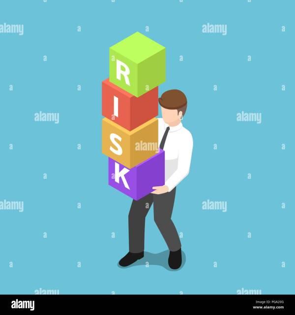 Risk Assessment Cartoon Stock Vector - Alamy