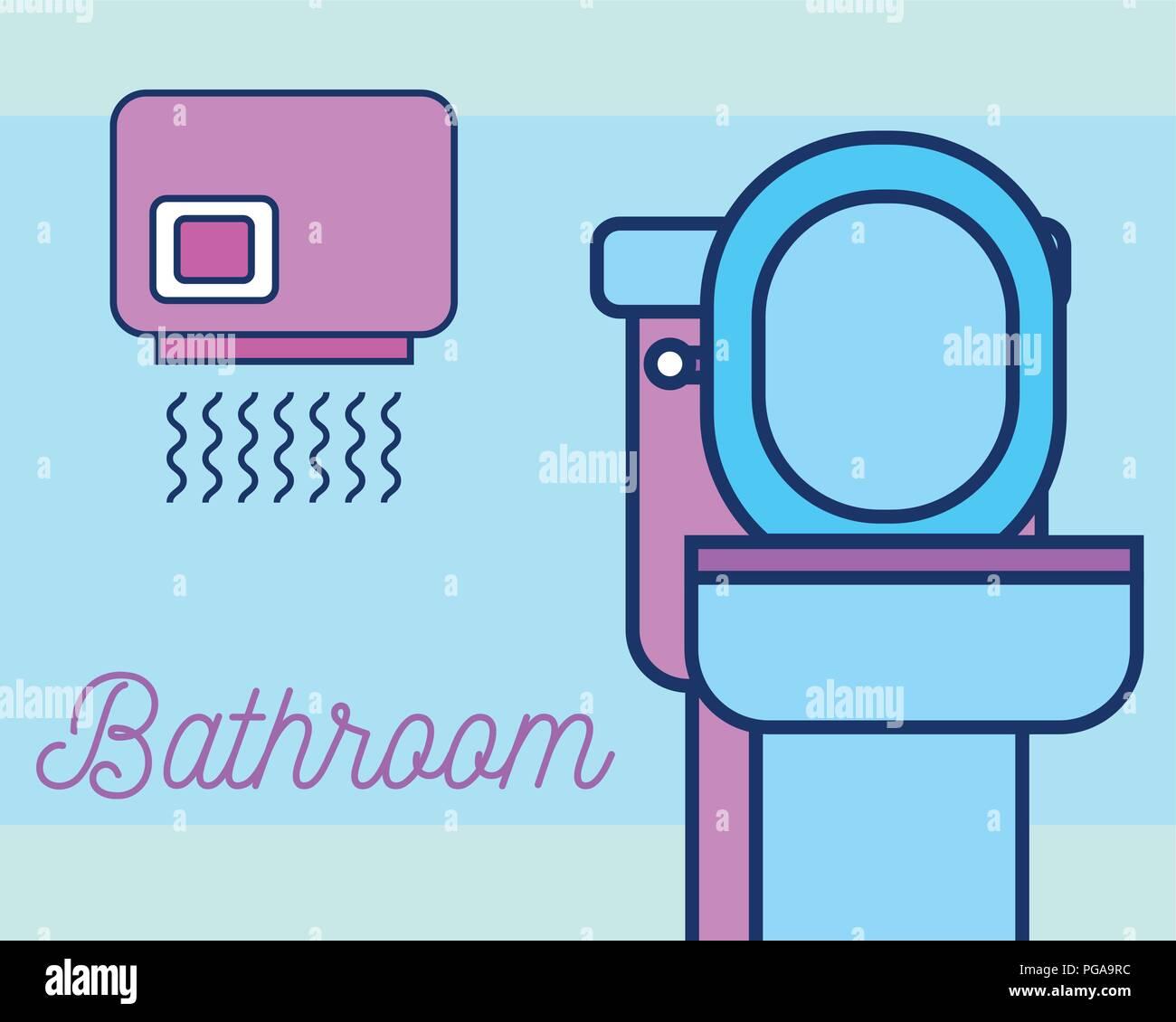 Hand Dryer Bathroom Stock Photos  Hand Dryer Bathroom