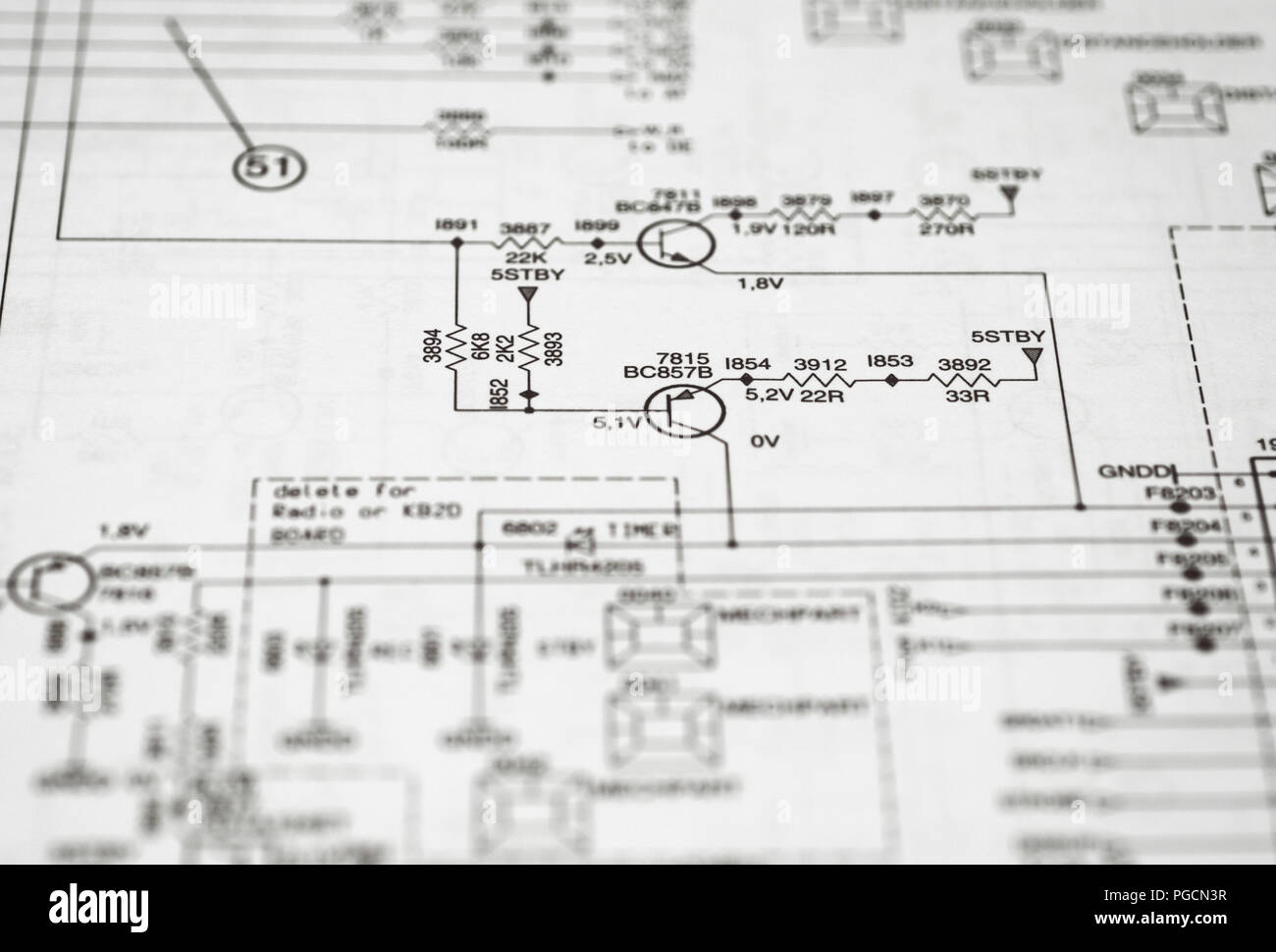 hight resolution of electronic circuit diagram stock photo 216638907 alamy stock status pin diagram pin diagram block diagram block diagram