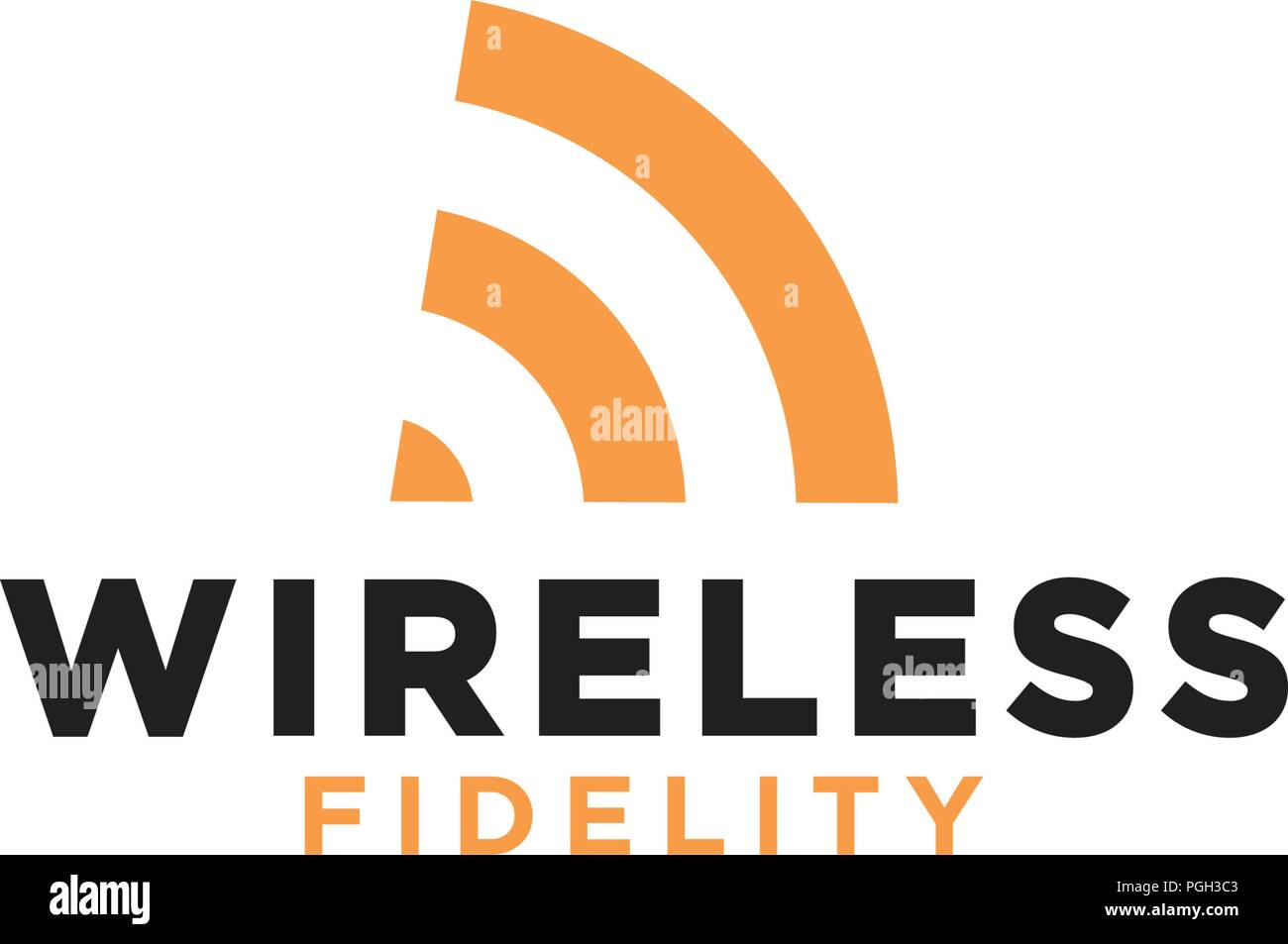 Internet Wifi Signal Communication Graphic Stock Photos
