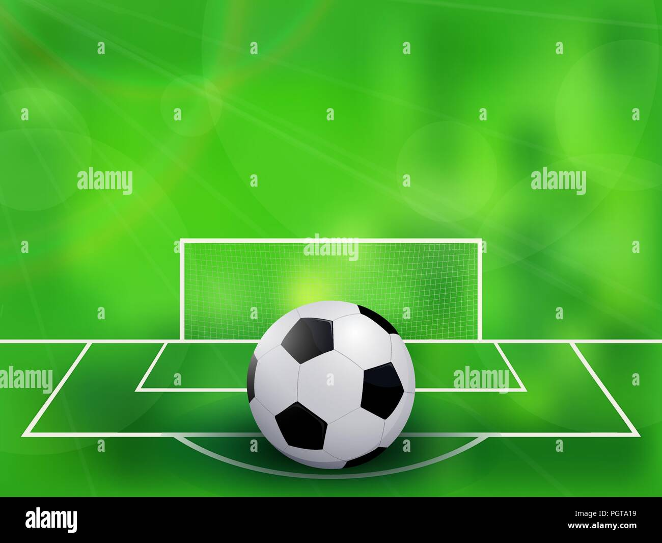 abstract soccer football background
