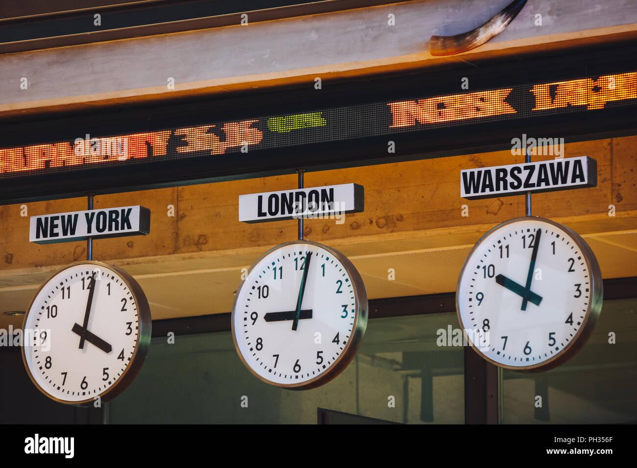 clocks of various time