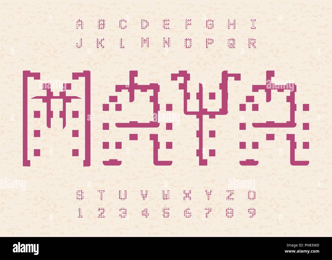 Hieroglyphic Alphabet Stock Photos Amp Hieroglyphic Alphabet