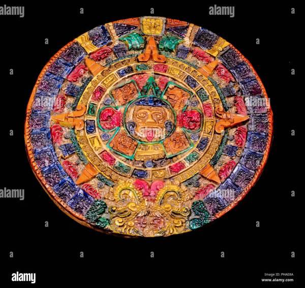 Mayan Calendar Stone Stock Photos Mayan Calendar Stone