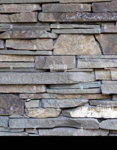 Decorative wall of artificial torn stone masonry as background or texture also rh alamy