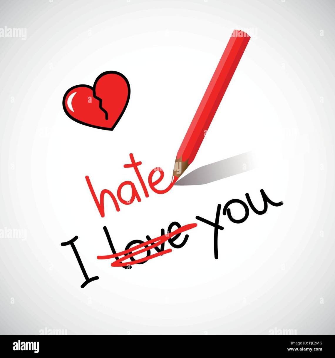 Download I Hate You High Resolution Stock Photography and Images ...