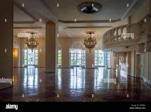 Interior Grand Ballroom Stock &