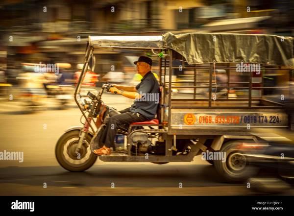 Vietnam Transportation Motorbikes - Year of Clean Water