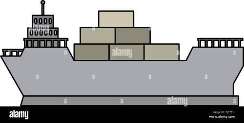 small resolution of cargo ship isolated icon
