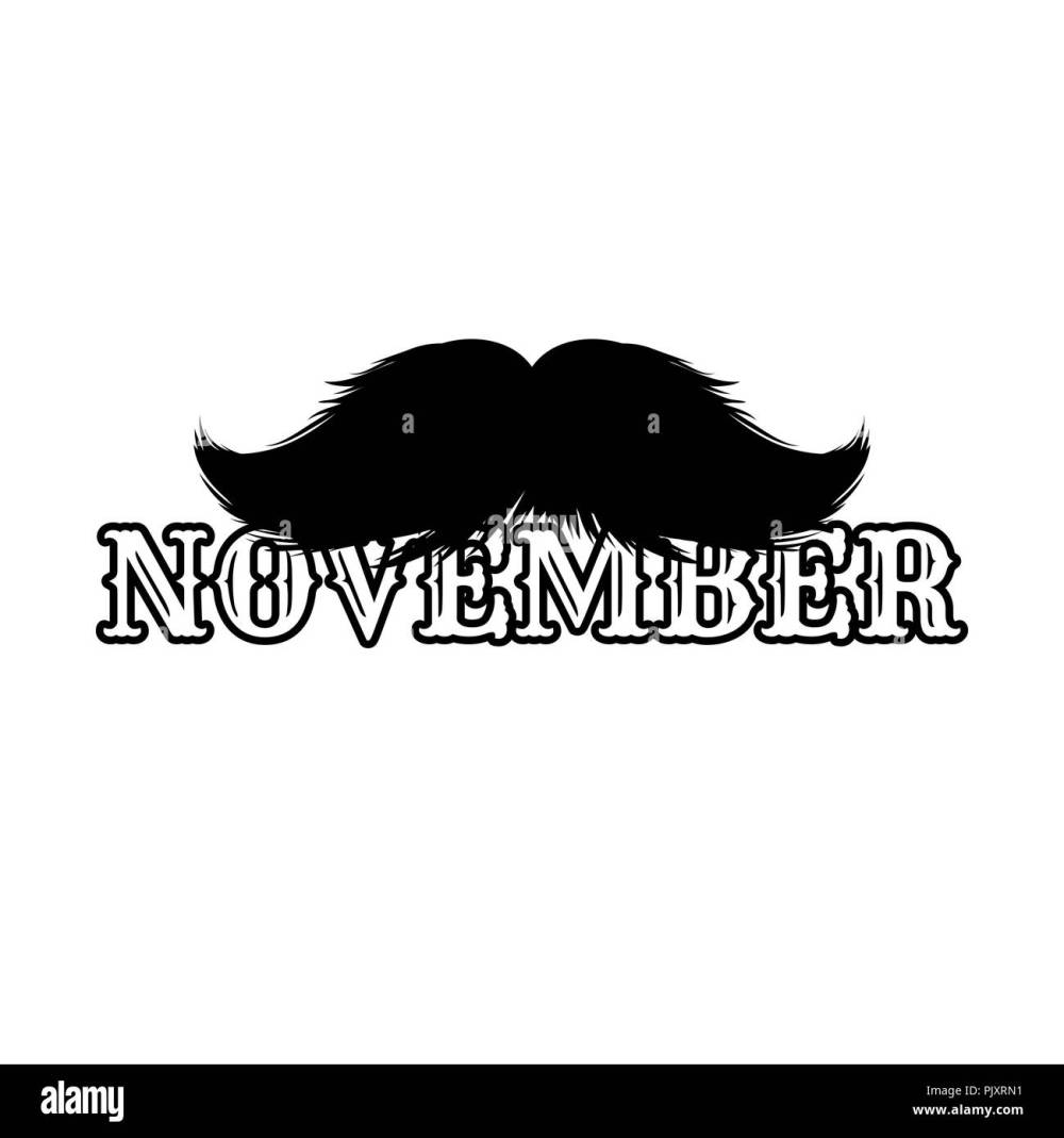 medium resolution of moustaches clipart black isolated silhouette and hand drawn lettering with word november cinco de mayo paper cutting design mustache for barbershop or