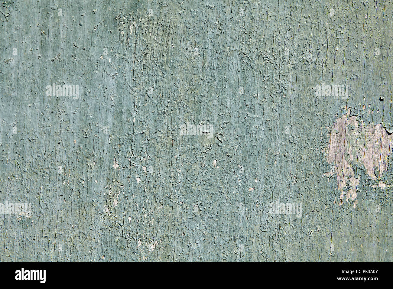 Closeup Peeling Pale Green Paint On The Surface Of The Old Cracked Sheet Of Plywood Texture For The Backdrop Stock Photo Alamy