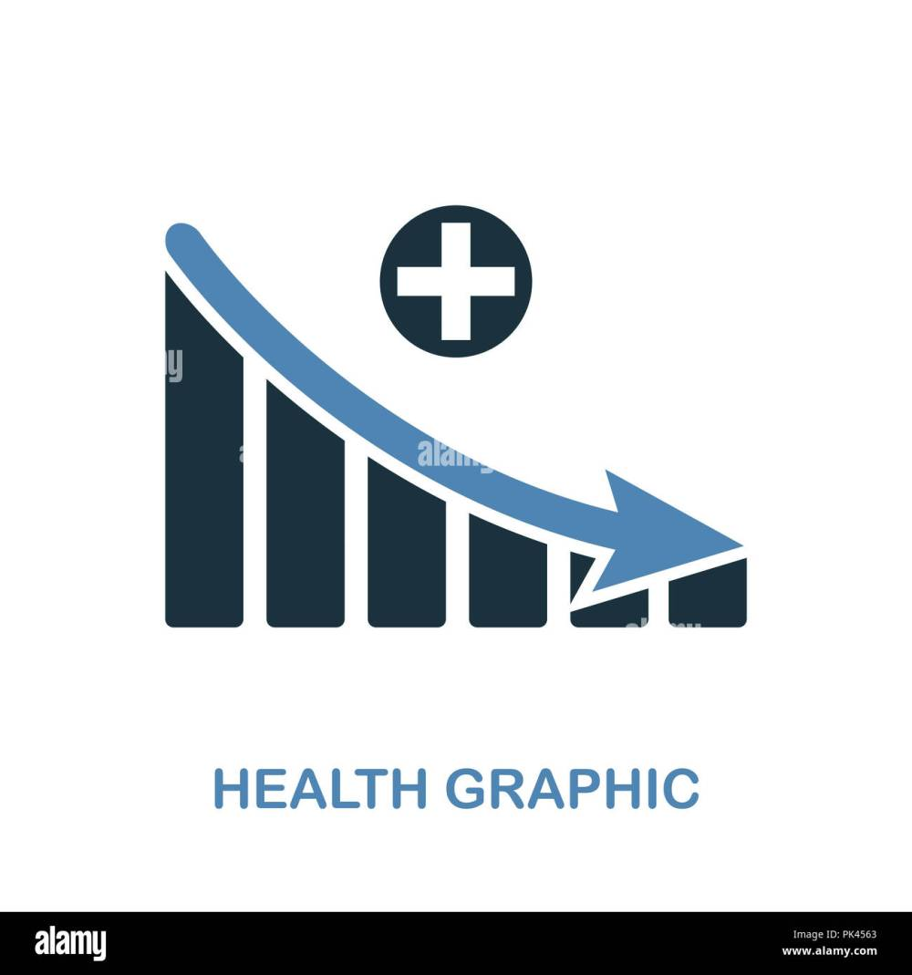 medium resolution of health decrease graphic icon monochrome style design from diagram collection ui pixel perfect