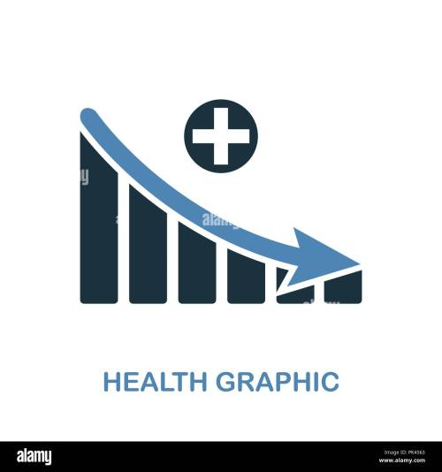 small resolution of health decrease graphic icon monochrome style design from diagram collection ui pixel perfect
