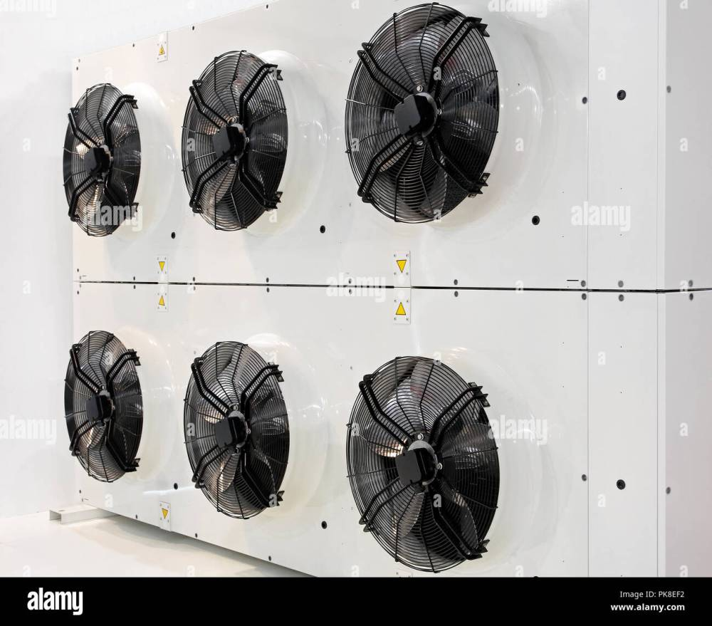 medium resolution of six industrial fans for big air conditioner