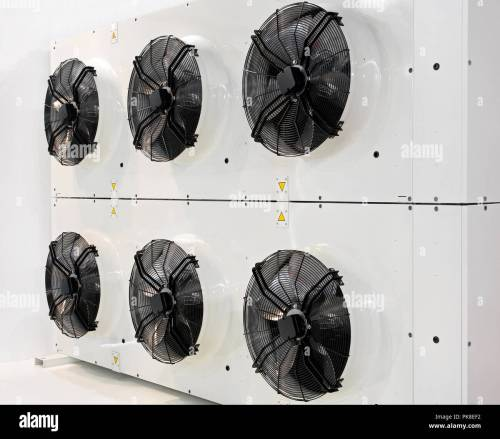 small resolution of six industrial fans for big air conditioner