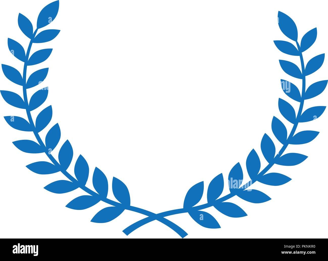 blue circle wheat symbol