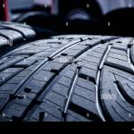 Extreme Macro Close Up Of Tread Grooves On Racing Car Wet Tires New Set Stock Photo Alamy