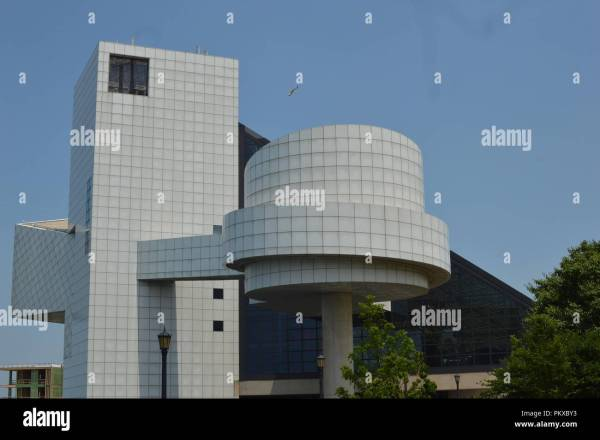 Rock And Roll Hall Of Fame Cleveland Stock &