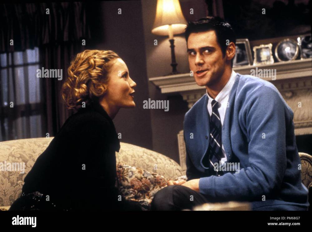 medium resolution of film still from the cable guy leslie mann jim carrey 1996 columbia photo credit melinda sue gordon file reference 31042178tha for editorial use only