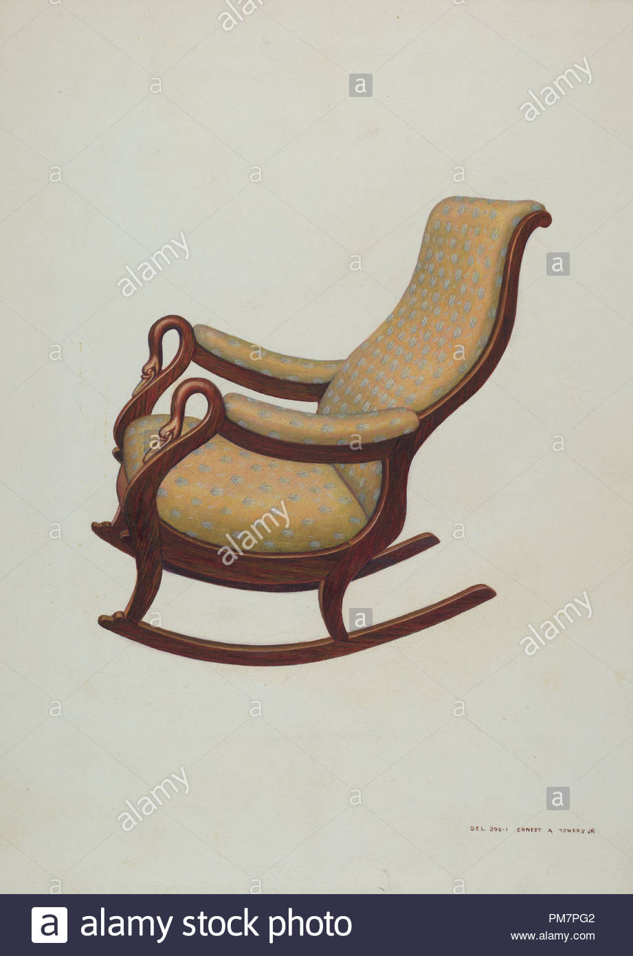 rocking chair rockers perfect craigslist dated c 1938 dimensions overall 35 9 x 25 8 cm 14 1 10 3 16 in original iad object 40 high 23 wide