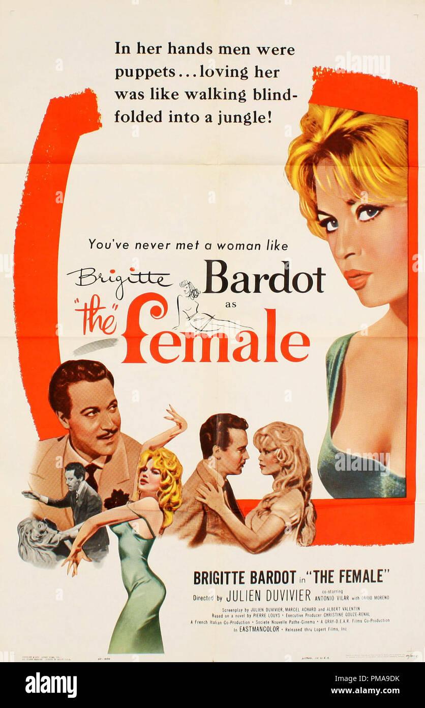 La Femme Et Le Pantin : femme, pantin, Brigitte, Bardot,, Female