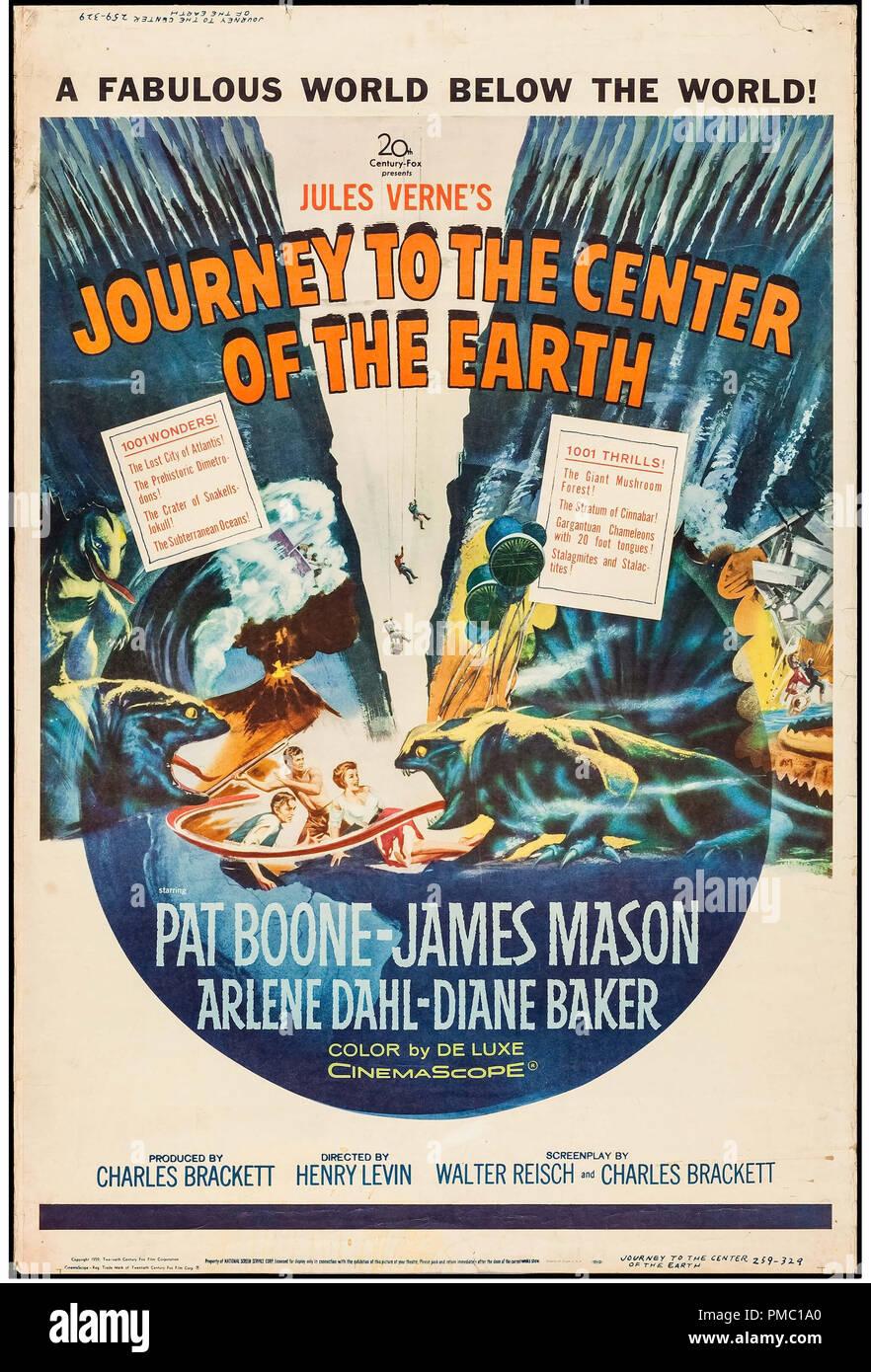 Voyage Au Centre De La Terre 1959 : voyage, centre, terre, Journey, Center, Earth, Resolution, Stock, Photography, Images, Alamy