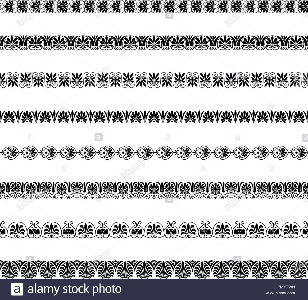 greek ornamental border patterns