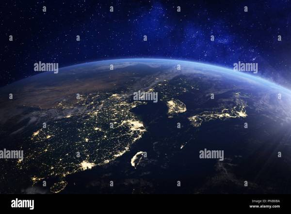 20 Nasa Night Lights Korea Pictures And Ideas On Meta Networks