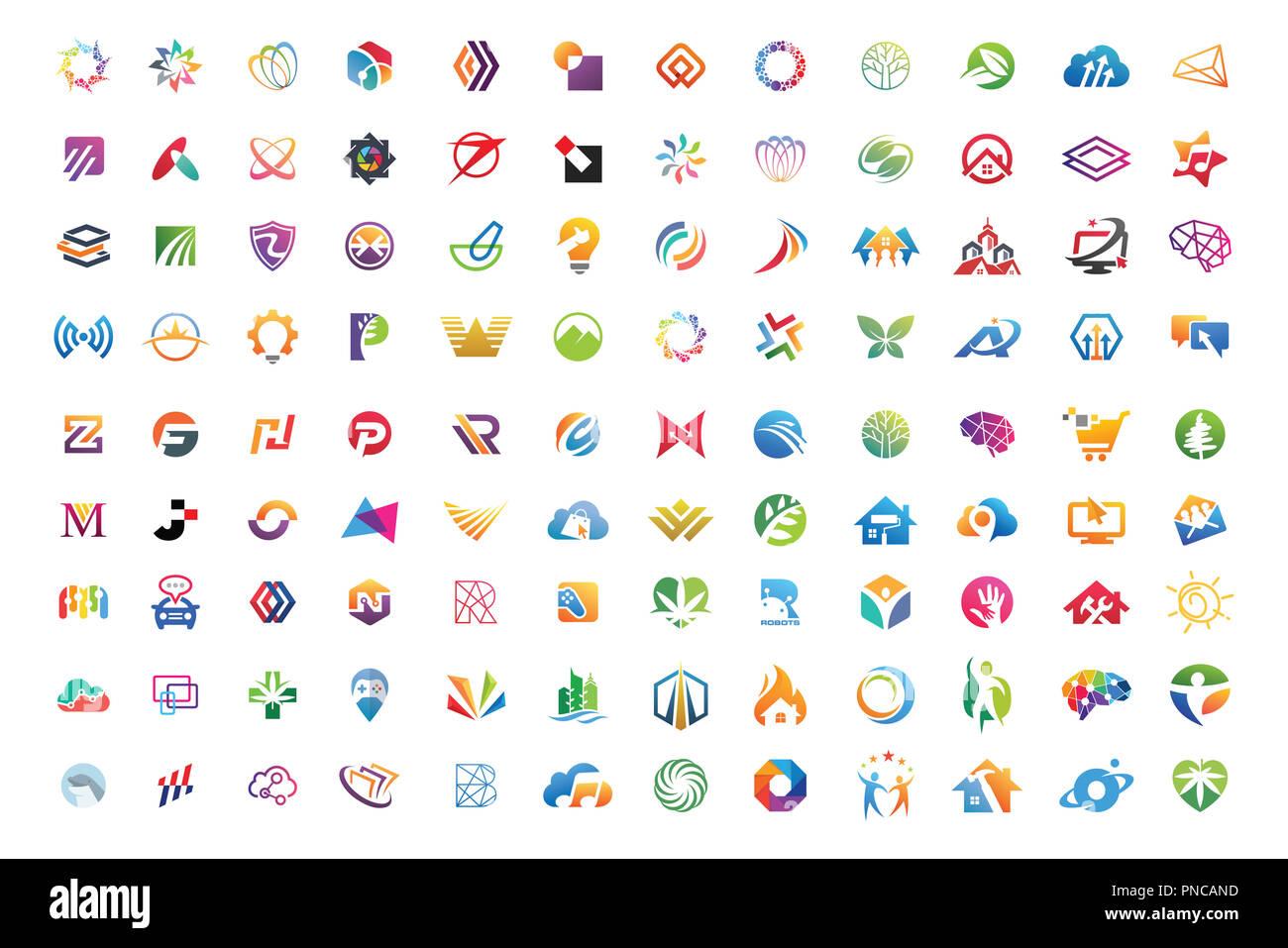 logo mega collections abstract