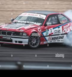 22 september 2018 rhineland palatinate nuerburg motorsport nuerburgring drift cup uwe sener in action with his bmw e36 m3 during the drift cup  [ 1300 x 956 Pixel ]