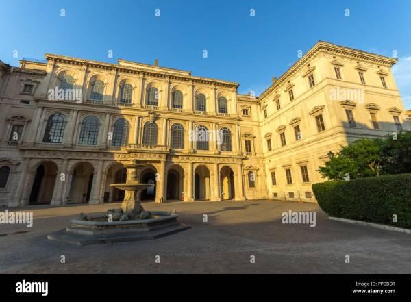 Palazzo Barberini Stock &