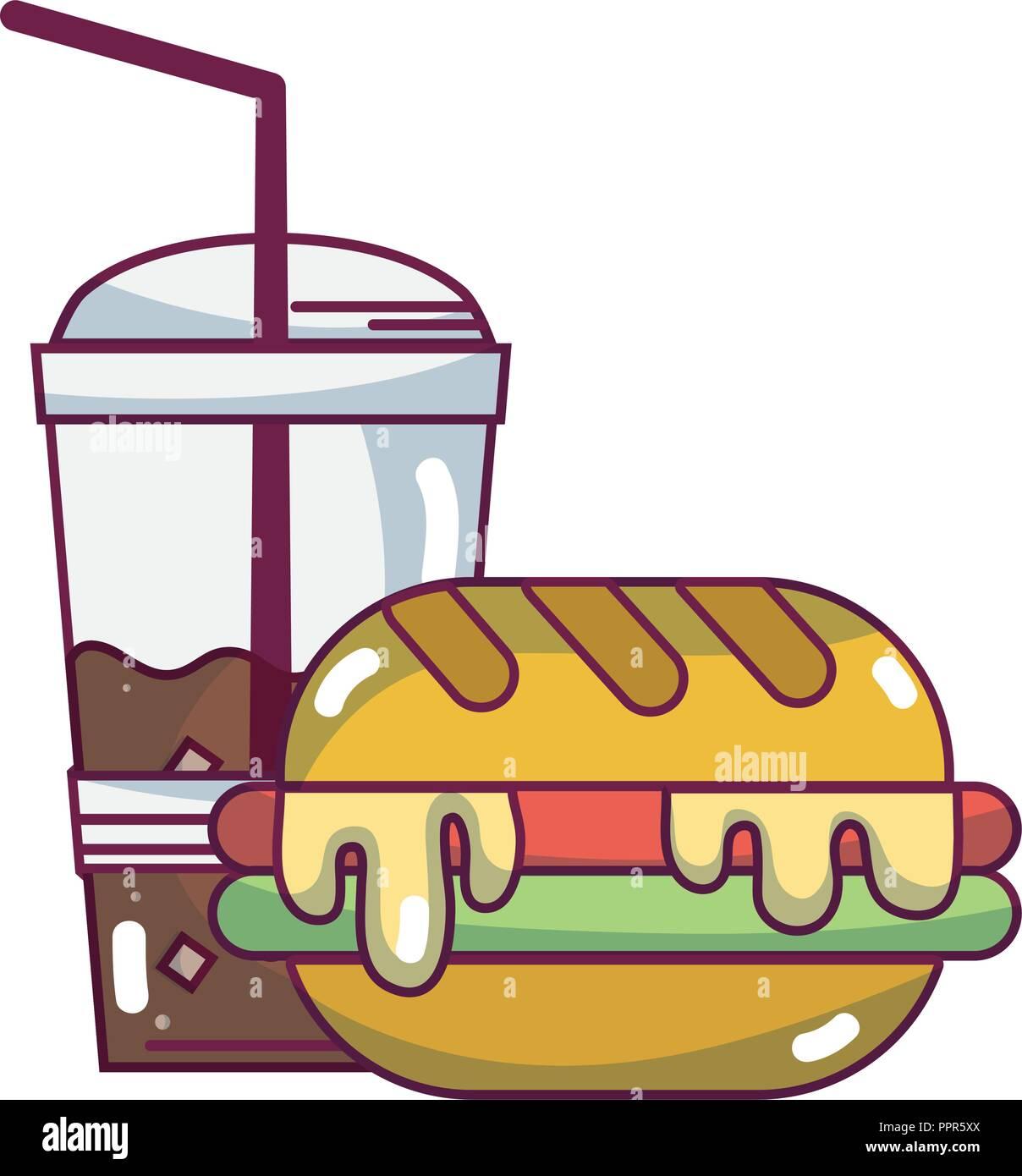 food and ingredients cartoons