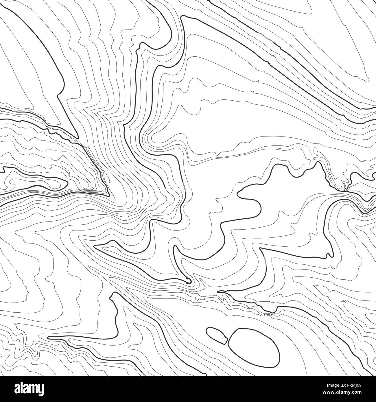 Contour Lines Map High Resolution Stock Photography And