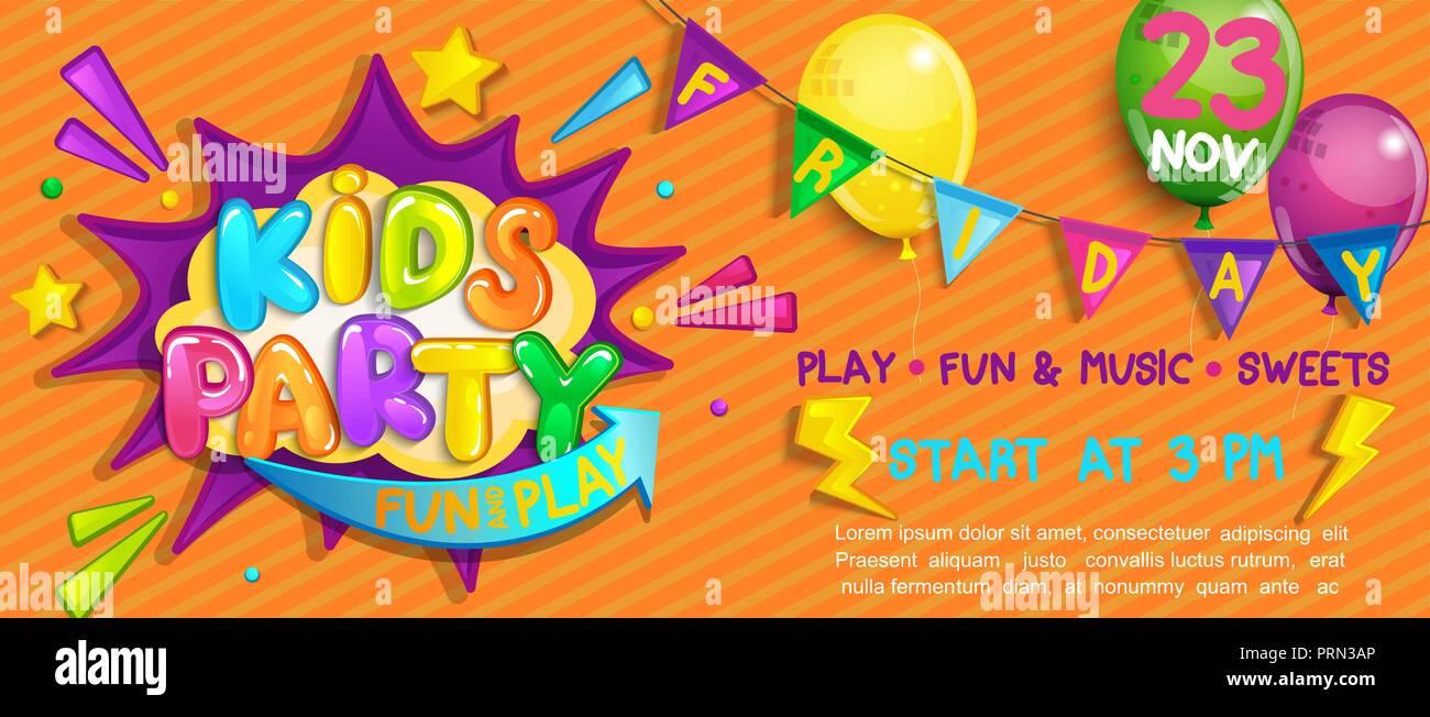 wide super kids party