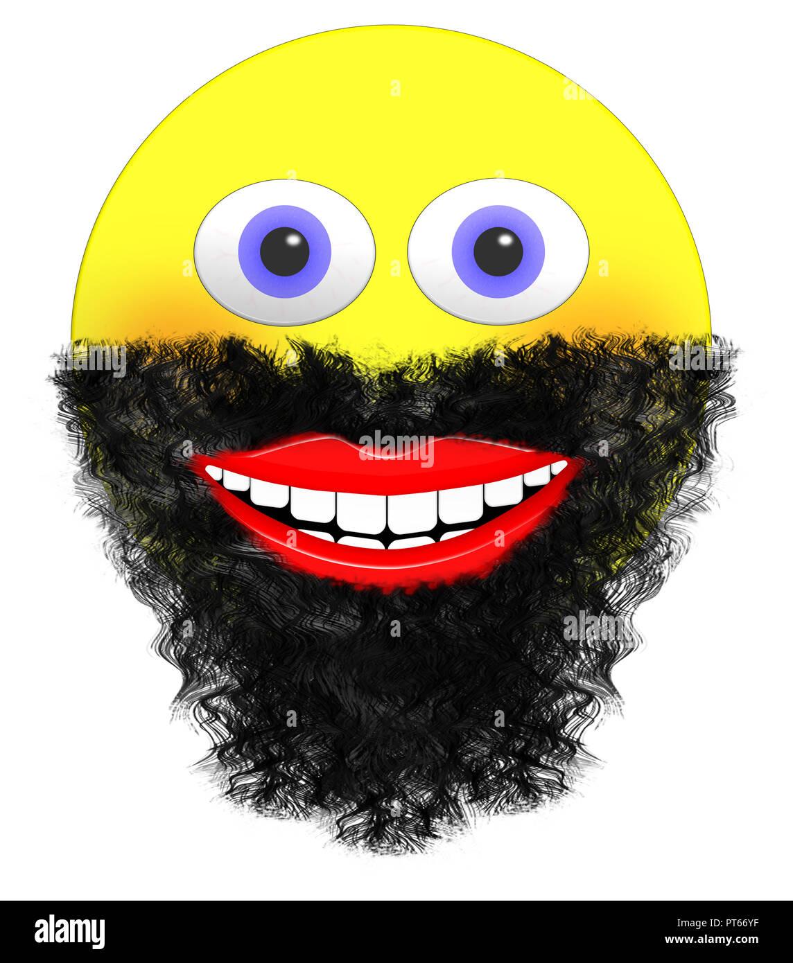 Red Eye Emoji : emoji, Emoji, Resolution, Stock, Photography, Images, Alamy