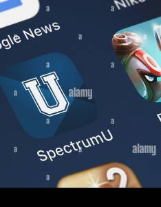London united kingdom october close up of the spectrumu icon from charter communications on an iphone also rh alamy