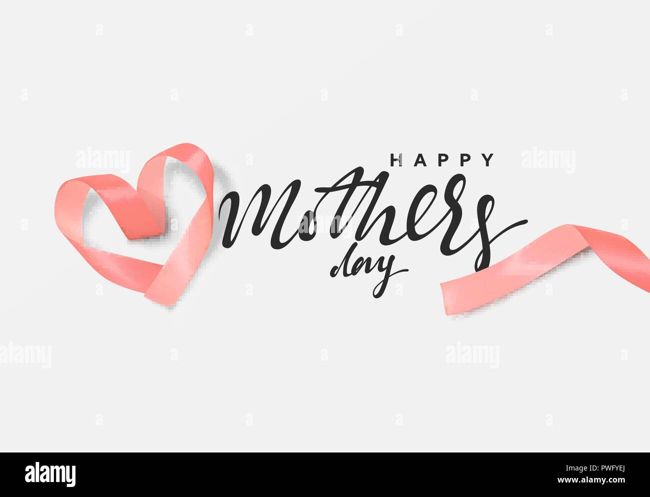 mother day design pink