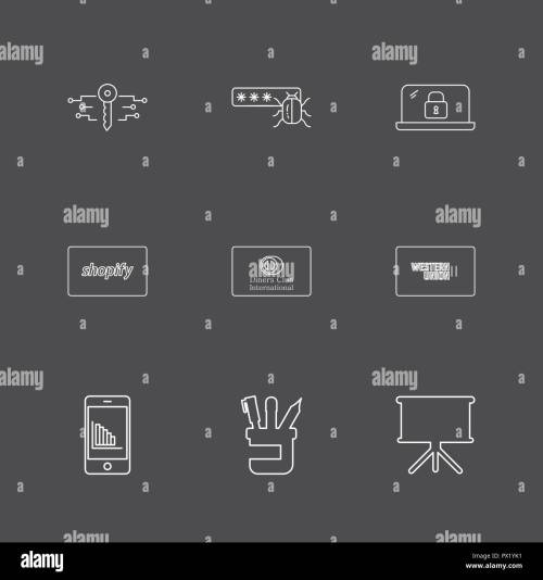 small resolution of key password bug lock shopify club card western union mobile pen board icon vector design flat collection style creative ic