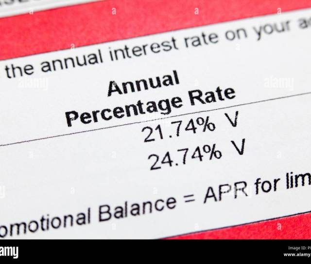 Credit Card Interest Rate Apr Credit Card Annual Percentage Rate Information On Monthly Statement Usa