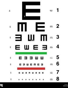 Vector eye test chart visual acuity also stock art  illustration rh alamy