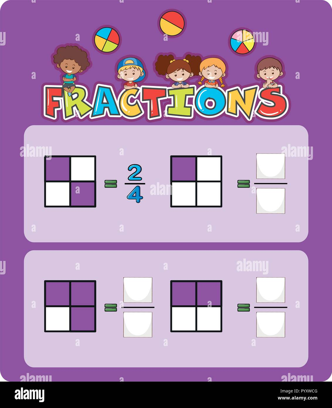 Math Fractions Stock Photos Amp Math Fractions Stock Images