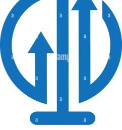 bulb lamp financial logo bar chart and arrow marketing symbol innovation idea logo template ready for use [ 758 x 1390 Pixel ]
