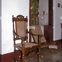 Floor Rocking Chair India Hanging Wicker Egg Nz Old Traditional House In Goa State Stock Photo 223971348 Alamy