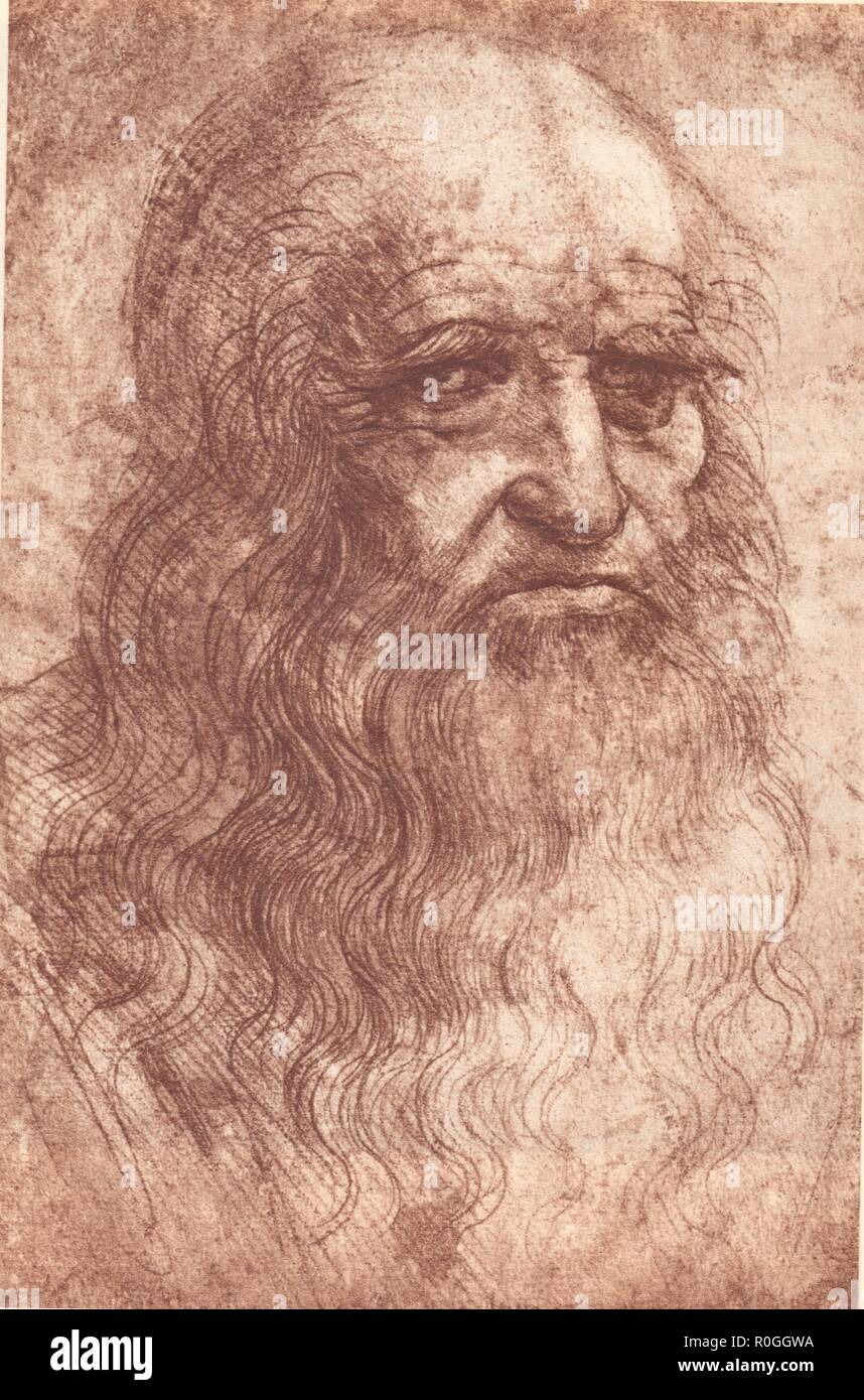 last self portrait leonardo