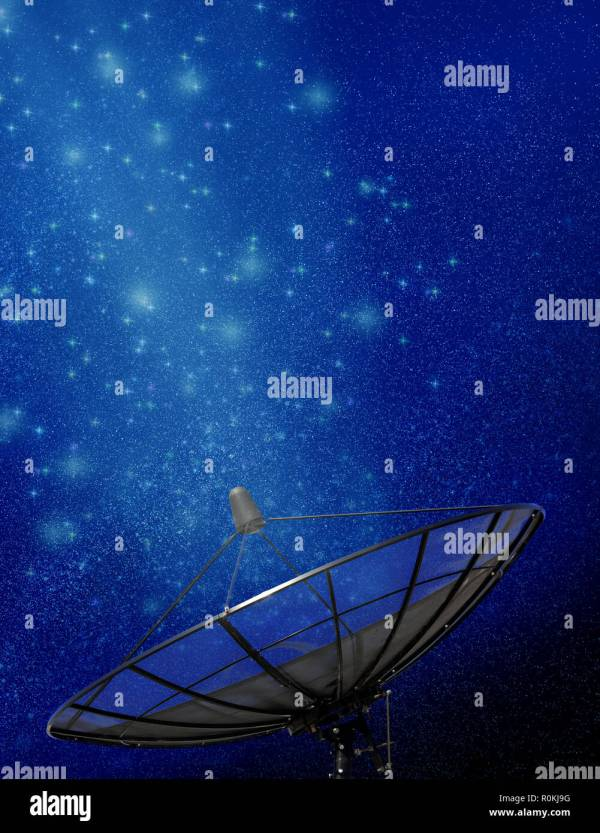 Digital Radio Night Stock & - Alamy