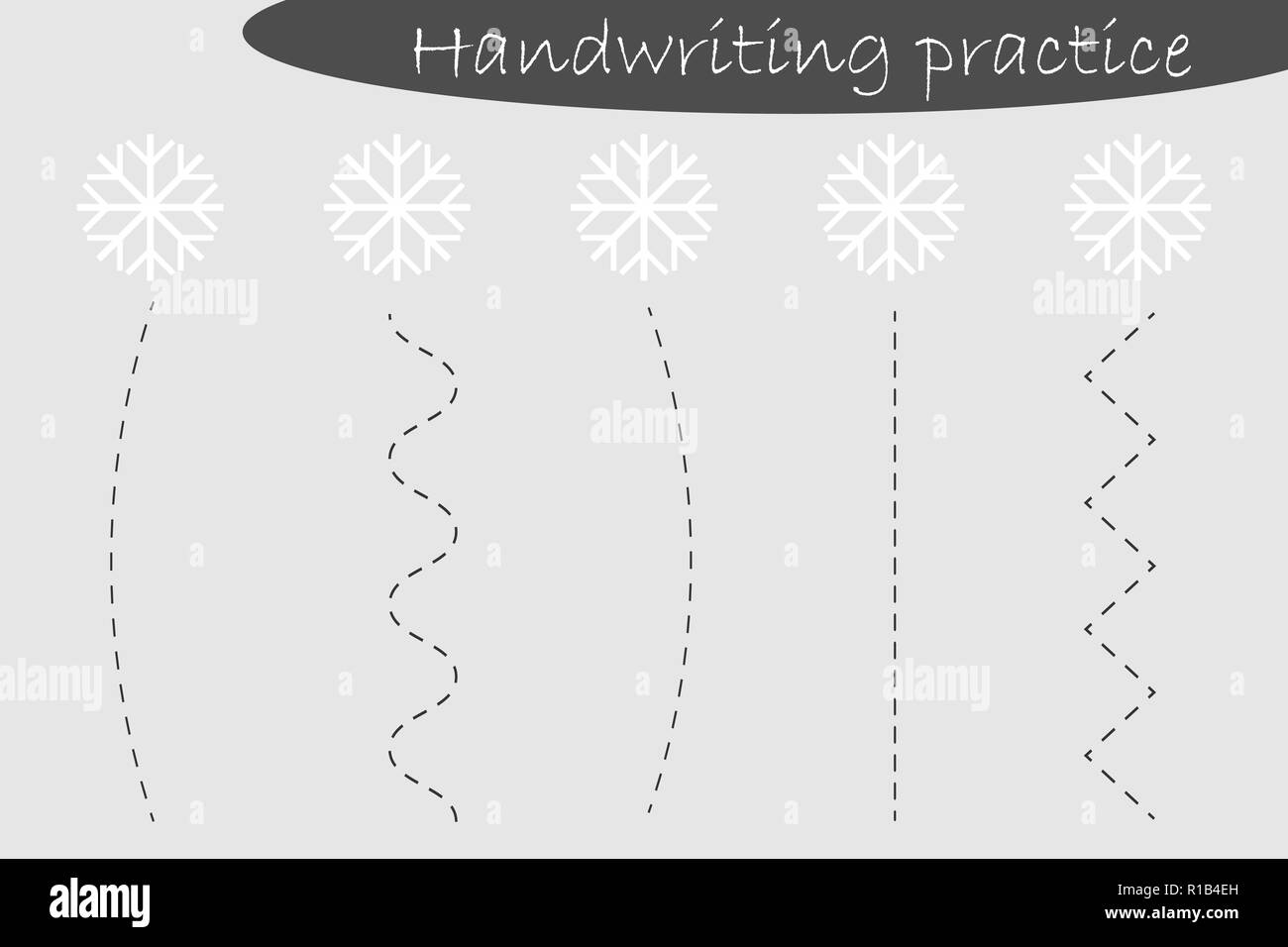 Christmas Border Line Drawing Black And White Stock Photos